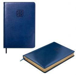Ежедневник датированный А5 Bravo Soft синий BUROMAX ВМ.2112-02