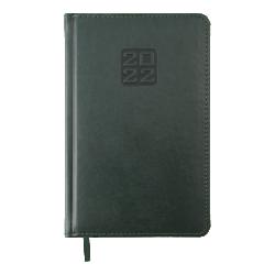 Ежедневник датированный А5 Bravo зелёный BUROMAX ВМ.2706-04
