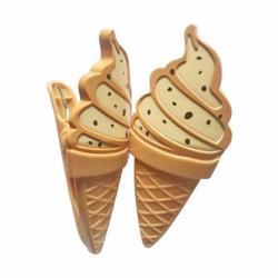 Набор зажимов для пляжного полотенца Stenson Мороженое 2 предмета, R29875