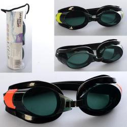 Очки для плавания регул. ремешок, от 7 лет, колба 21085