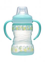 Бутылка с мягким носиком (мальчик) 260мл 35101