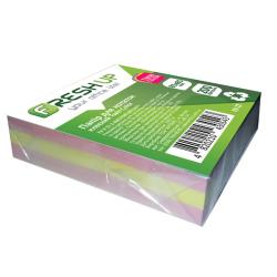 Бумага для заметок FRESH UP Twin Color клеенная 85х85мм 200 листов разноцветная