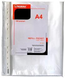 Набор файлов 100шт A4 40мкм Norma 5705