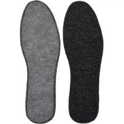 Стельки для обуви войлочные с мехом, прошиты р-р 38-48