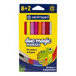 Фломастеры 8+2 цветов  Magic  Centropen 2549-10-copy83750