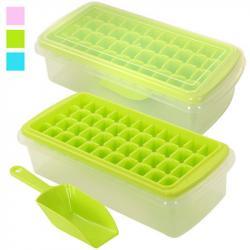Форма для льда с контейнером и лопаткой Stenson 26,5-13-8см, R82591