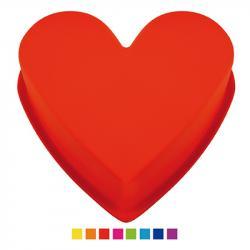 Форма для выпечки силиконовая Stenson Сердце, HH-218
