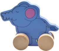 Деревянная каталка Слон