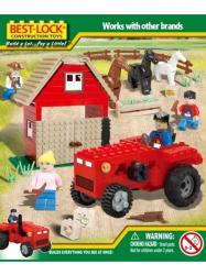 Конструктор BEST-LOCK Трактор и конюшня 33064 330 дет.