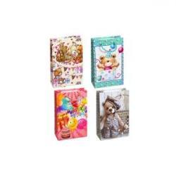 Пакет цветной малый Мишка 1011