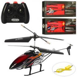 Вертолет на радиоуправлении 28см (аккумулятор, гироскоп, USB зарядное, свет), FQ777-S390
