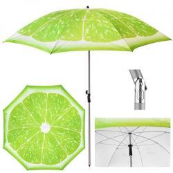 Зонт пляжный Stenson Лайм d2м с наклоном, MH-3371-4