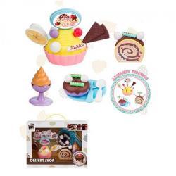 Продукты (сладости, тарелка, вилка, ложка) D977-1-11