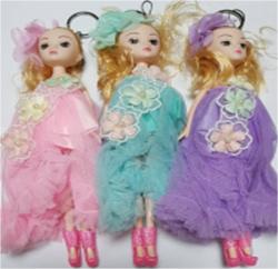 Брелок Кукла 24 см S-3451