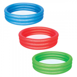 Бассейн BW 3 кольца, детский, круглый, 51025