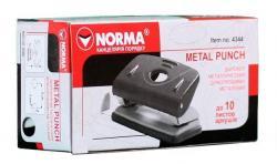 Дырокол NORMA 10 листов 4344