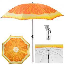 Зонт пляжный Stenson Апельсин d2м с наклоном, MH-3371-5