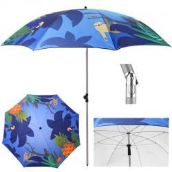 Зонт пляжный Stenson ленивец d2м с наклоном, MH-3371-8
