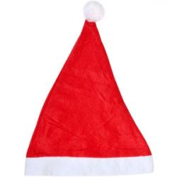 Шапка Деда Мороза фетр Большая 6216-9