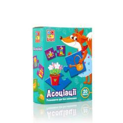Игра развивающая Vladi Toys Ассоциации, VT1804-33