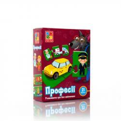 Игра развивающая Vladi Toys Профессии, VT1804-32