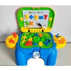 Игровой набор 2 в 1 столик с магнитной доской, 777F