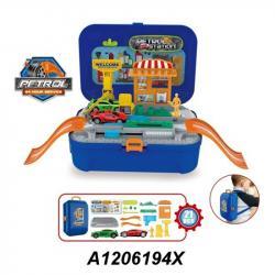 Игровой набор Автозаправка Bowa, 8019