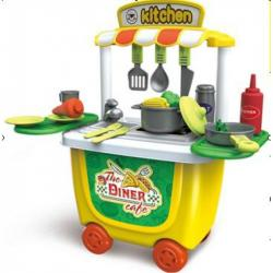 Игровой набор Bowa Кухня на колесах, 8326CB