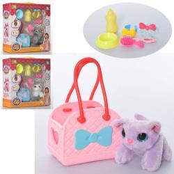 Игровой набор для девочки - котик с сумочкой, DR5020