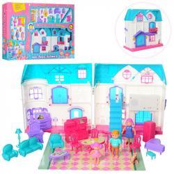 Игрушечный домик с мебелью, 1205AB