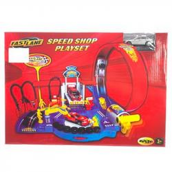 Игровой набор Fast Lane автотрек на запуске, 393