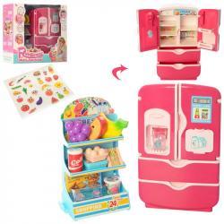 Игровой набор Холодильник с продуктами, 35882D