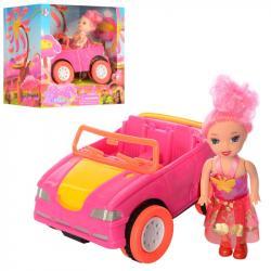 Игровой набор кукла с машинкой, 68115