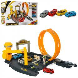 Игровой набор Limo Toy Эстакада автотрек, 6002