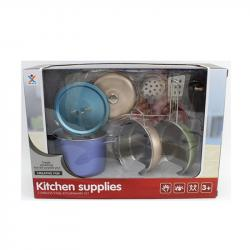 Игровой набор металлической посуды, 988-C21