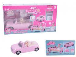 Игровой набор My wedding car кукла с машинкой, QL055