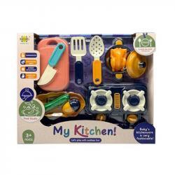 Игровой набор посуда детская My kitchen, RM8203-2