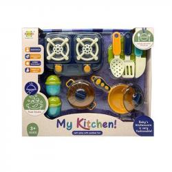 Игровой набор посуда детская My kitchen, RM8203-4