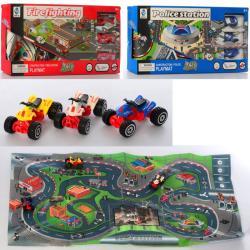 Игровой набор с транспортом, 5599-89-90-92A