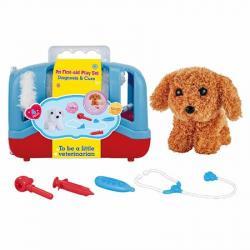 Игровой набор собачка с набором ветеринара, T801-2