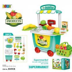 Игровой набор Супермаркет Bowa, 8341CB