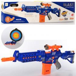Игрушечный автомат Blast с мягкими пулями, 9921
