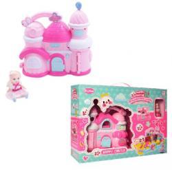 Игрушечный домик 2 в 1 Happy Castle, YB8050-1