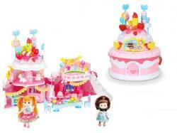 Игрушечный домик 2 в 1 Similan Birthdaycake, QL046
