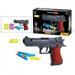 Игрушечный пистолет Combat с пулями, CH4444