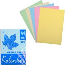 Бумага офисная 5 цветов 100 листов 80г / м² П5 / 100