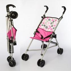 Коляска для куклы прогулочная, 55-51-26см (колеса 4 шт.), D81009