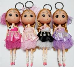 Брелок кукла 17см S-3454