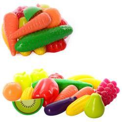 Набор Фрукты-овощи - 16 предметов