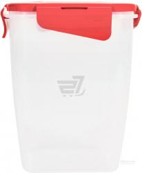 Контейнер для хранения продуктов с зажимом глубокий 2л